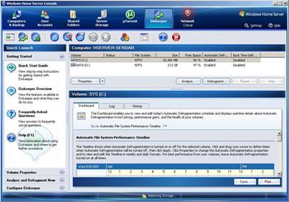 avast!  Windows Home Server Edition 11 - Sécurisation du système serveur