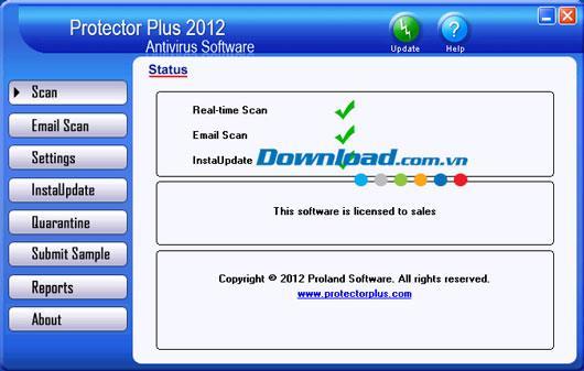 Protector Plus 2012 Antivirus 8.0 - Antivirensoftware