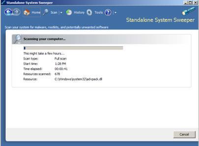 Microsoft Standalone System Sweeper (32 Bit)