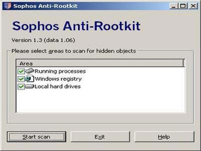 Sophos Anti-Rootkit 1.3