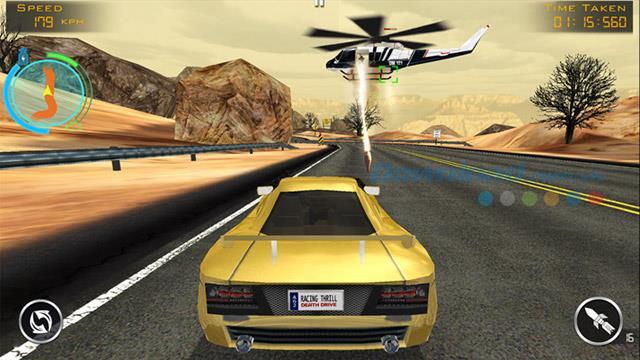 Death Drive: Racing Thrill pour Windows 8 - Le jeu de course de tir maléfique