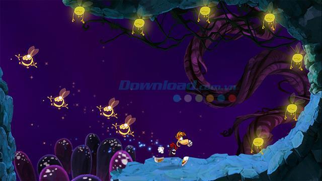 Rayman Jungle Run - Ein lustiges Abenteuerspiel zum Fangen von Insekten