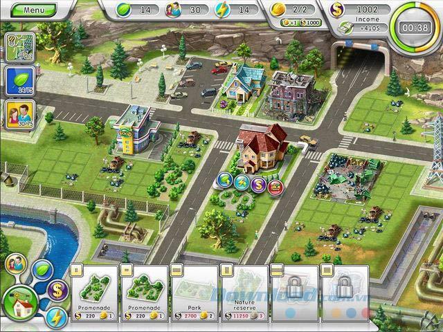 Green City - Jeu de construction de ville