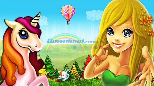 Fantasy Island - Jeu pour construire un beau château