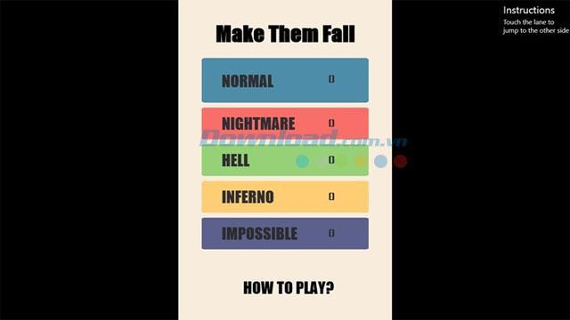 Make Them Fall - Jeu de danse avec stickman