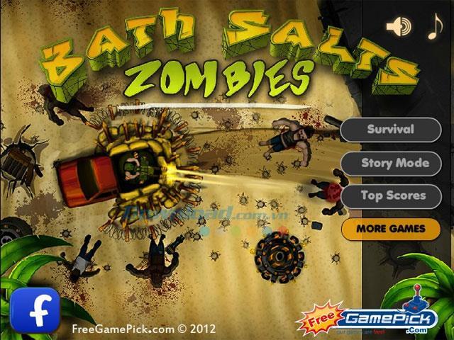 Bath Salts Zombies - Zerstörer-Spiel für Marinehelden