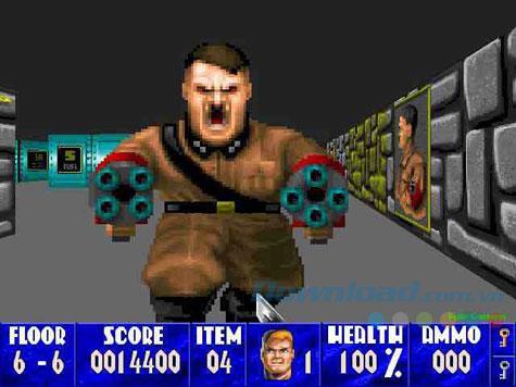 Wolfenstein 3D - Deutsches faschistisches Vernichtungsspiel