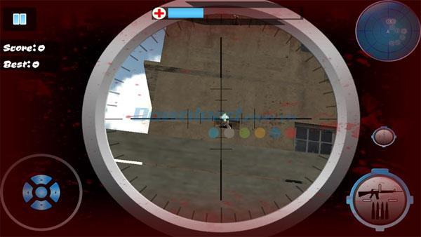 Commando Hostage Rescue für Windows 8 - Kostenloses 3D-Schießspiel