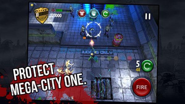 Richter Dredd vs.  Zombies für Windows 8 - Zombie-Shooter unter Windows 8