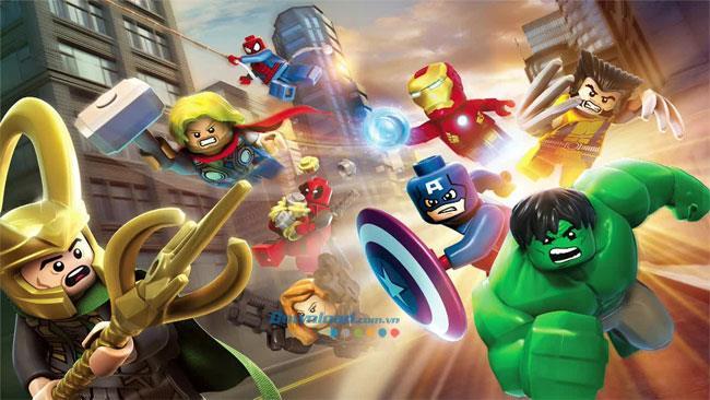 Lego Marvel Super Heroes 1.0 - Lego Superhelden-Teamspiel