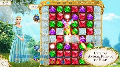Cinderella Free Fall - Cinderella-Spiel