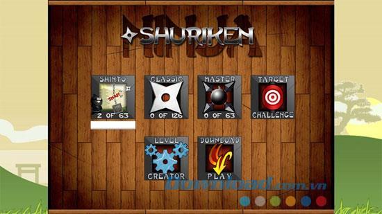 Shuriken Ninja - Spiel Ninja Wurfpfeile