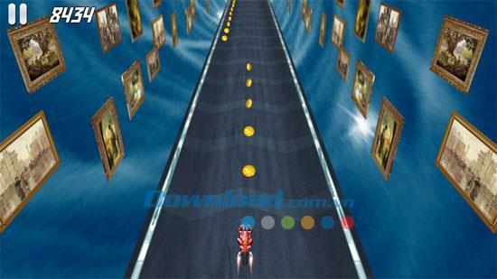 AE 3D Moto - Die verlorene Stadt - Motorradrennspiel auf dem PC