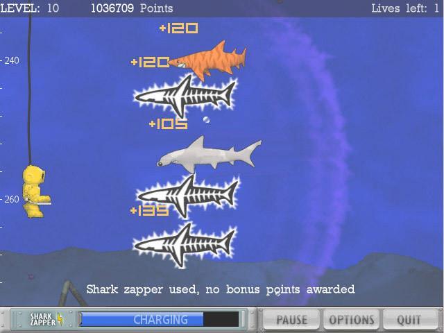 Typer Shark Deluxe 1.02 - Jeu Shark Destroyer