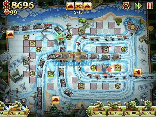 Toy Defense 2 - Spiel des Zweiten Weltkriegs
