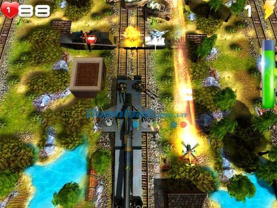 Shoot-n-Scroll - Heftiges Luftangriffsspiel