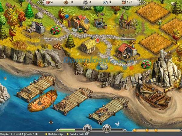 Viking Saga: Rettungsspiel New World - Kingdom