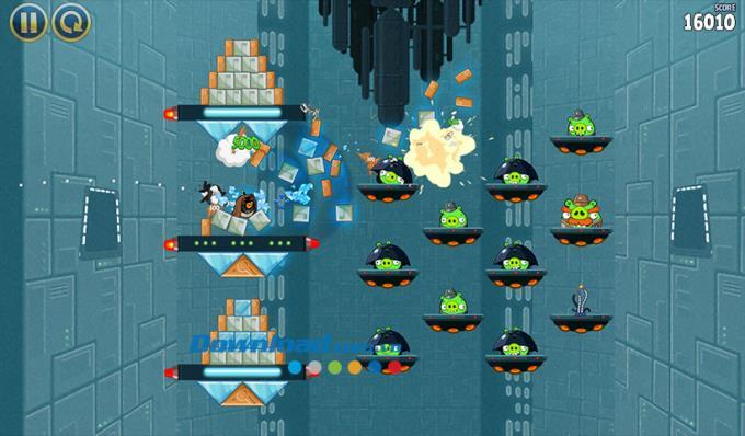 Angry Birds Star Wars - Jeu Angry Jedi Bird