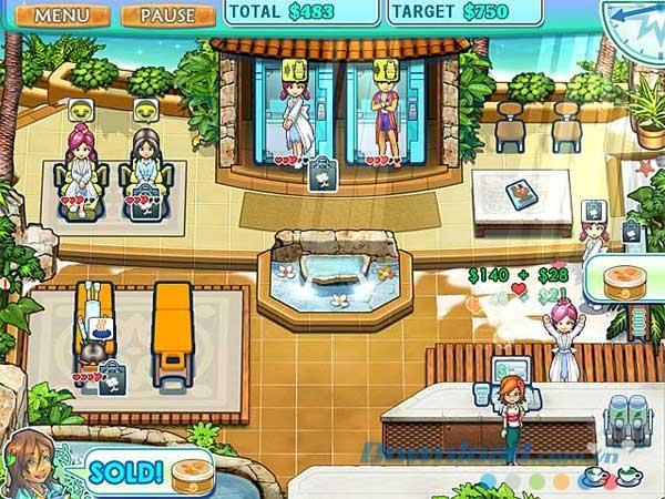 Sally's Spa - Jeu de gestion de salon de spa