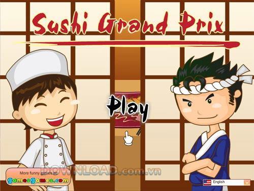 Sushi Grand Prix - Sushi Kuchen machen Spiel