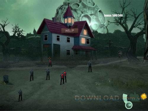 Zombie in da House - Spiel zum Schutz der Stadt