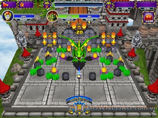 Mega World Smash - Jeu de balle de tir