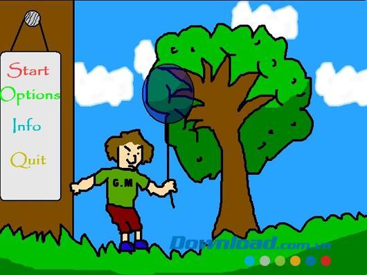 Air Ball - Jeu pour aider un garçon à se venger des oiseaux