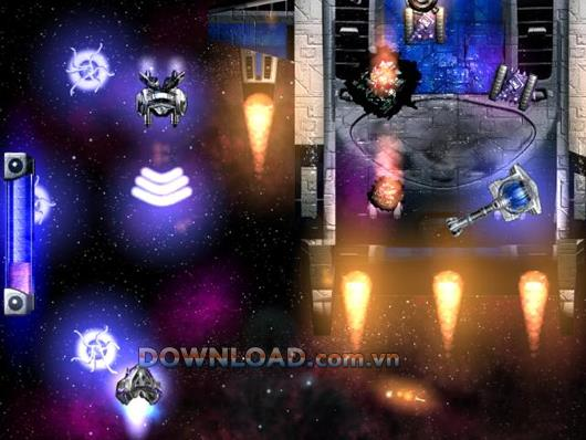 Flaming Space - Spiel gegen Außerirdische