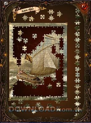 JiPS: Jigsaw Ship Puzzles - Stellt den Schatz des Forschers wieder her