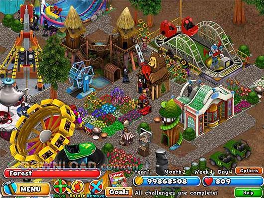 Dream Builder: Parc d'attractions - Gestion de parc à thème