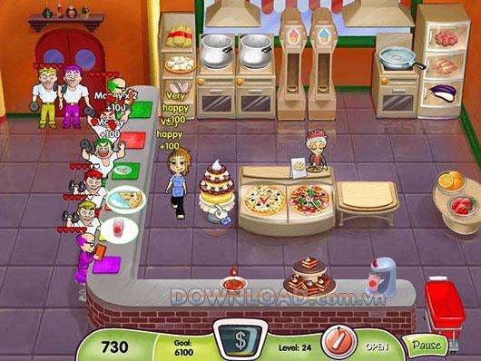 Cooking Dash - Restaurantverwaltung