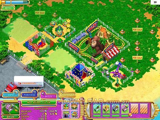 Carnival Mania - Gestionnaire de parc à thème