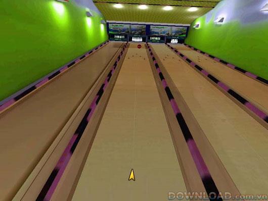 Bowling raffiné - Lancer la boule de bowling