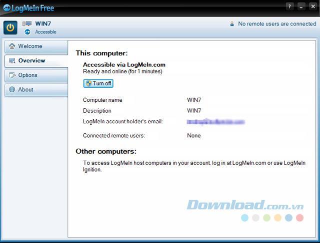 LogMeIn Free4.1.9630-リモートコンピュータを制御する