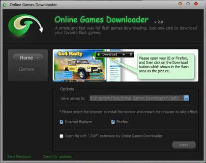 オンラインゲームダウンローダー