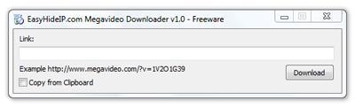Megavideo Downloader 1.0