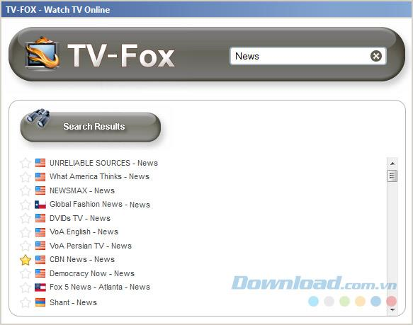TV-FOX3.2.1-ブラウザでオンラインでテレビを見る
