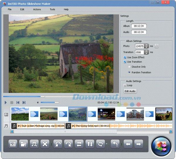 ImTOO写真スライドショーメーカー-写真スライドショーをすばやくデザインする