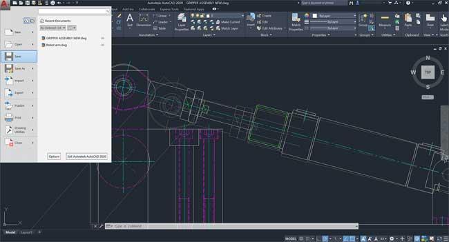 AutoCAD2021-2Dおよび3Dエンジニアリンググラフィックデザイン