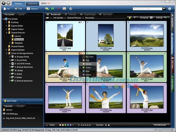 Pictomio1.2.35-写真管理ソフトウェア