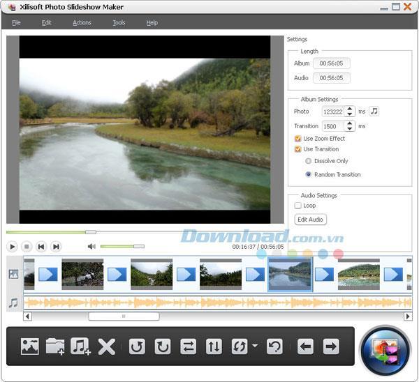 Xilisoft Photo SlideshowMaker-ユニークな写真のスライドショーを作成する