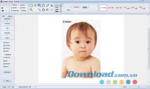PicEdit 3.56 - Fotobearbeitungssoftware
