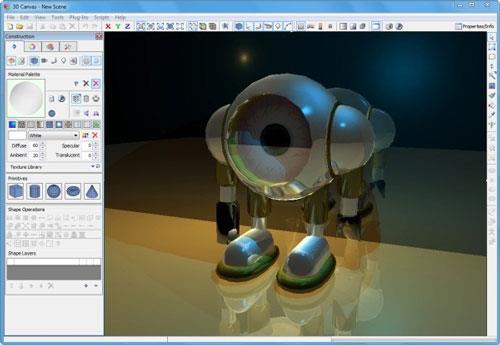 3Dcrafter 9.2.2 Build 1546 - 3D-Rendering per Drag & Drop