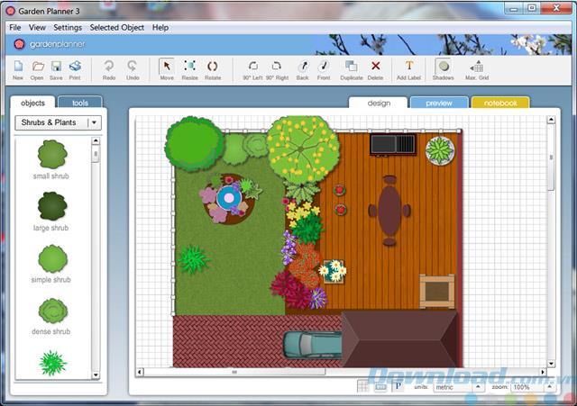 ガーデンプランナー3.4.2-夢の庭を設計する