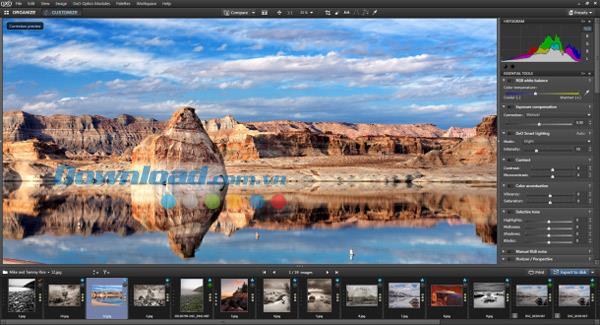DxO OpticsPro9.0-プロフェッショナルな画像処理