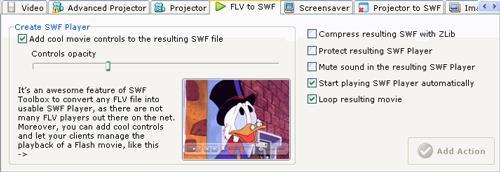 SWFおよびFLVツールボックス4.0.0.479-SWFおよびFLVフィルムを画像に変換