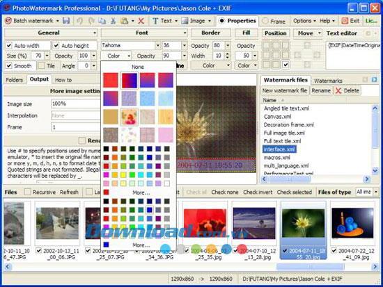 PhotoWatermark Professional7.0.5.2-写真に透かしを追加するツール