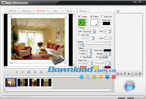 Aoao Watermark6.0-写真に透かしを追加