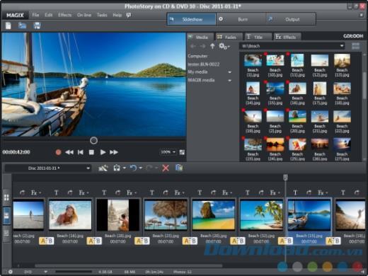 Magix PhotoStory Easy1.0.2.12-プロの写真スライドショーソフトウェア