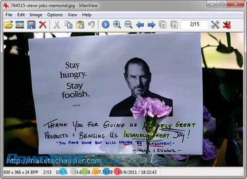 IrfanView Portable 4.56 - Anzeigen und Bearbeiten von mobilen Fotos